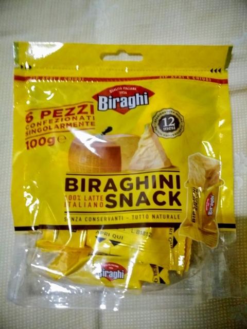 イタリア産BiraghiのBiraghini Snack1