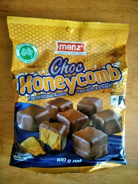 オーストラリア製menz社のハチの巣チョコレート1