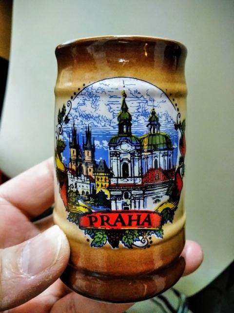 チェコ土産のミニカップ?1