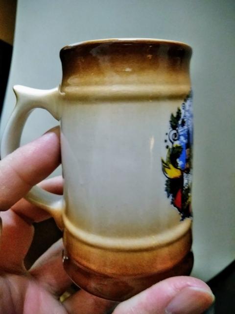 チェコ土産のミニカップ?2