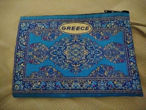ギリシャ土産のポーチ1