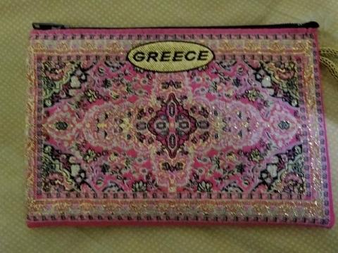 ギリシャ土産のポーチ2