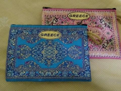 ギリシャ土産のポーチ3