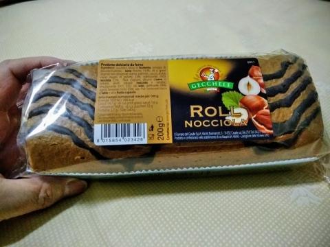 イタリア GECCHELEのロールケーキ1