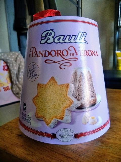 イタリア製バローナのパンドーロ1