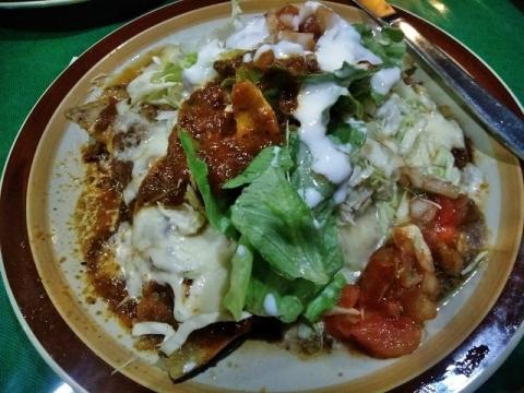 地元のメキシコ料理店「エル ソール」リピート2