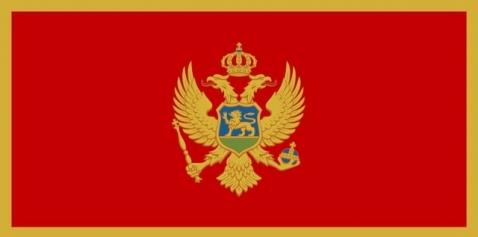 モンテネグロの国旗です