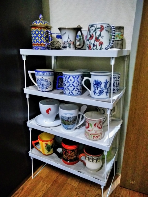 外国製マグカップコレクション
