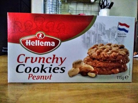 オランダ製ヘレマ社のクランチピーナッツクッキー1