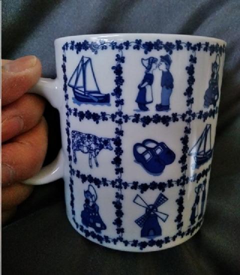 オランダ土産のマグカップ1