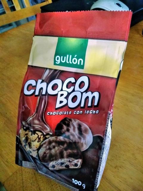 スペインのメーカー グリョンのチョコボム1