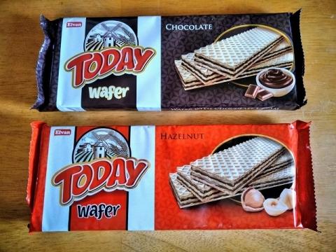 トルコ製チョコクリームとヘーゼルナッツクリームのウェハース1
