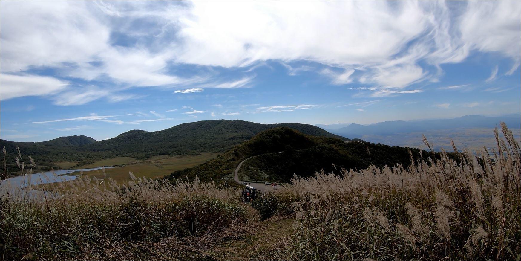 雄国沼会津盆地