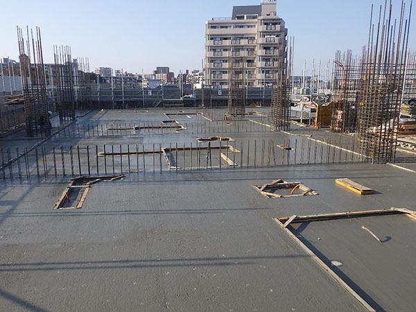 20190212_2階コンクリート打設完了