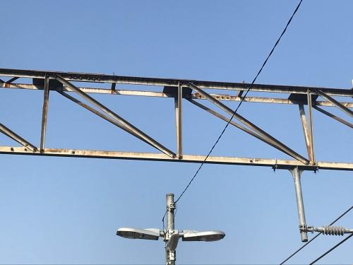 KATO複線架線柱 架線準備工事 (5)