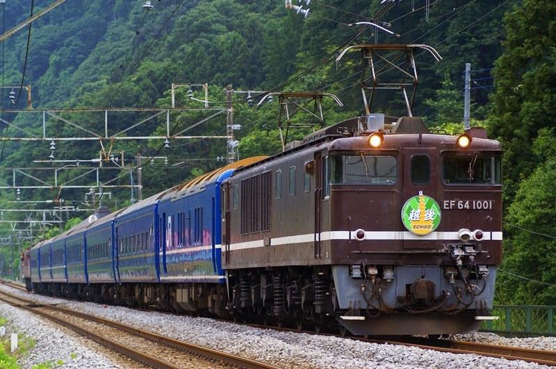 2009年7月4日 津久田~岩本にて