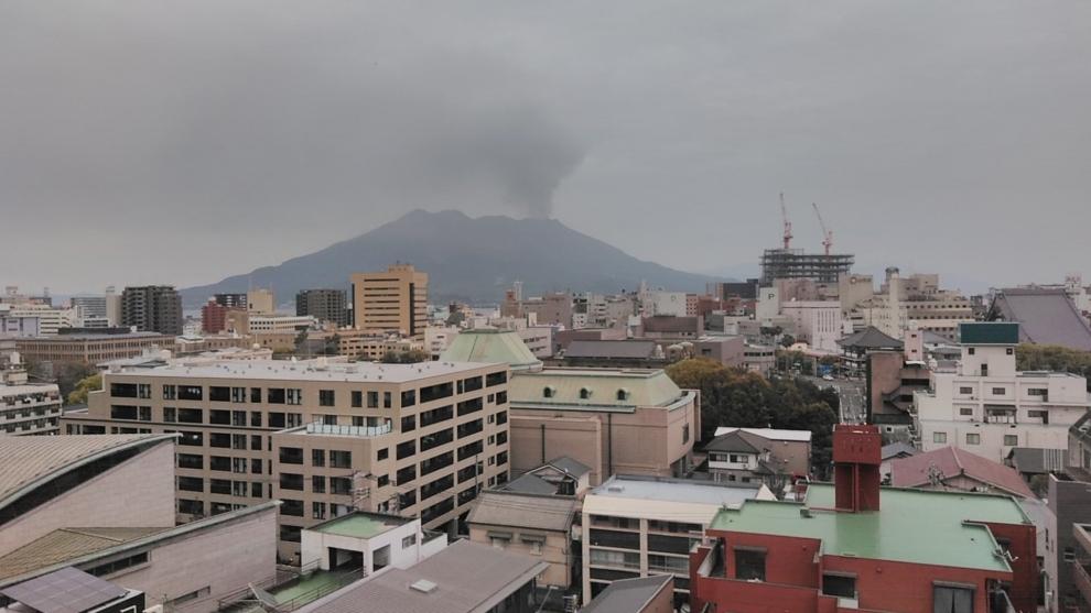 193桜島