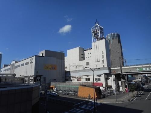 JR新札幌駅界隈