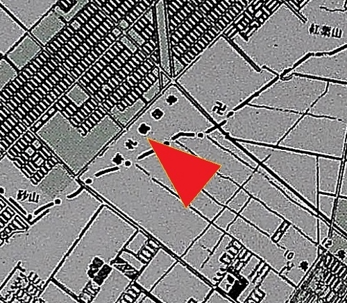 札幌市市街化区域と高速鉄道計画 新札幌団地