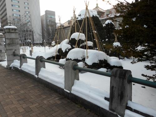 旧札幌控訴院 外柵 パラボラ