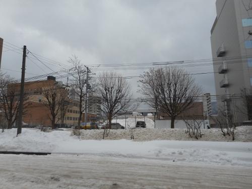 南1条西18丁目 地質調査所跡 正面 2019年