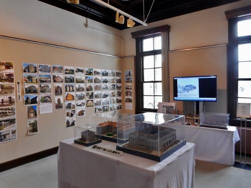 「札幌軟石と北の石文化」展 展示風景