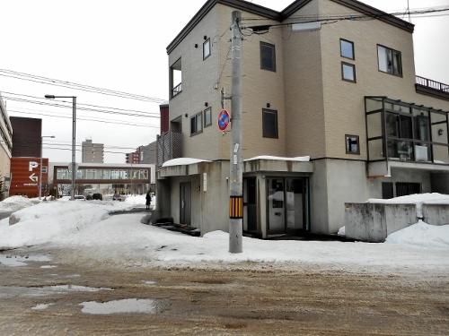 道道東札幌停車場線 菊水7-4-4 電柱東札幌幹
