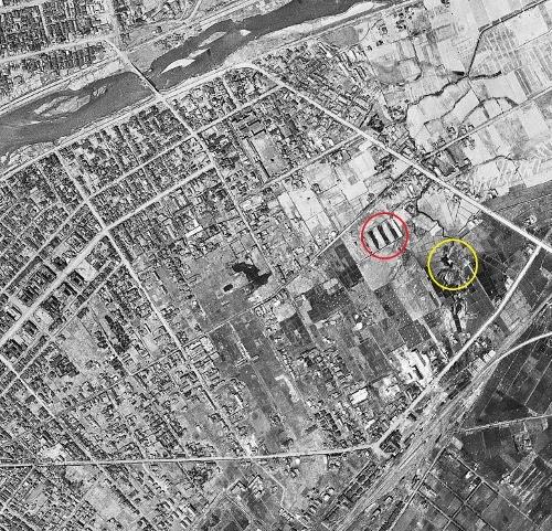空中写真 1948年米軍 トイシカラメムあたり