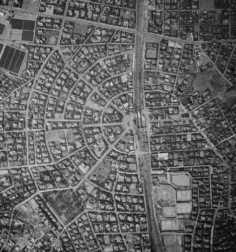 空中写真 1941年 田園調布