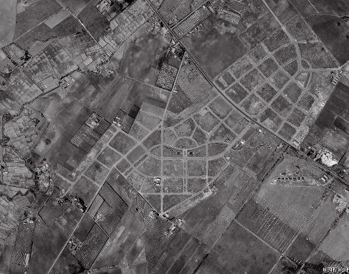 空中写真 1961年 羊ケ丘住宅地