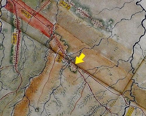 明治7年札幌郡各村地図 六軒