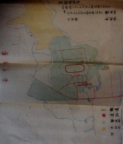 開拓使 育種場地図