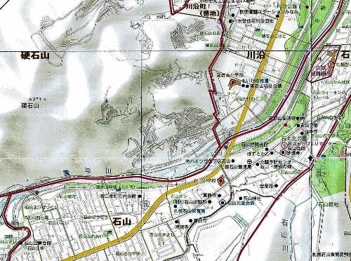 札幌市南区ガイド2008年 硬石山周辺