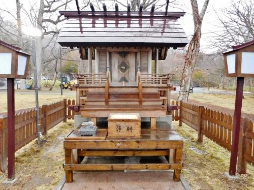 支笏湖神社 社殿