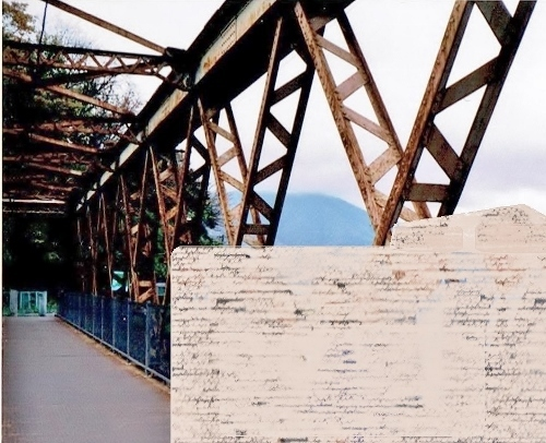 山線鉄橋 1990年