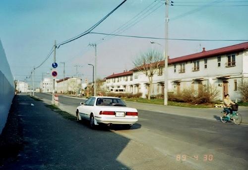 ひばりが丘団地 東地区 ひばりが丘通 1989年撮影