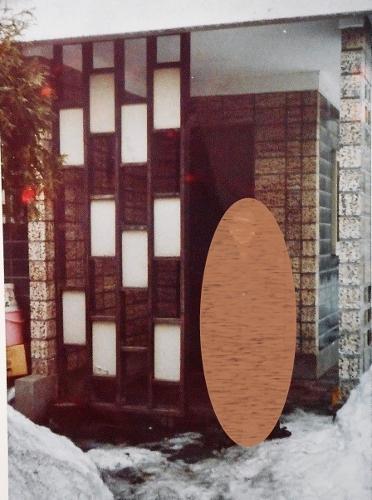 桑園 T先生宅 玄関(1965年ころ)