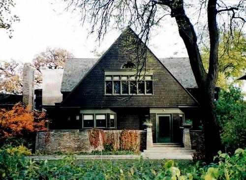 ライト自邸 米国イリノイ州オークパーク 1997年撮影