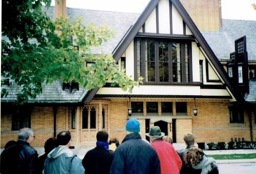 ムーア宅 米国イリノイ州オークパーク 1997年撮影