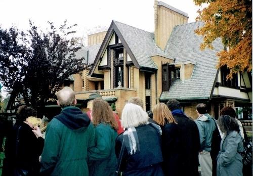 ムーア宅 米国イリノイ州オークパーク 1997年撮影 別アングル