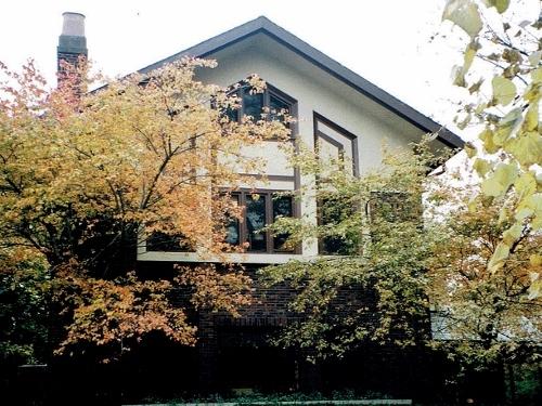 米国オークパーク ゴルベック宅1915年、ト-ルマッジ&ワトソン(1997年撮影)