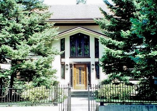 米国オークパーク マシュー宅1904年、ト-ルマッジ&ワトソン(1996年撮影)