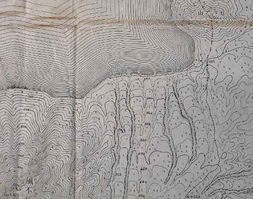 大正9年地形図「樽前山」エパラセッピナイ?