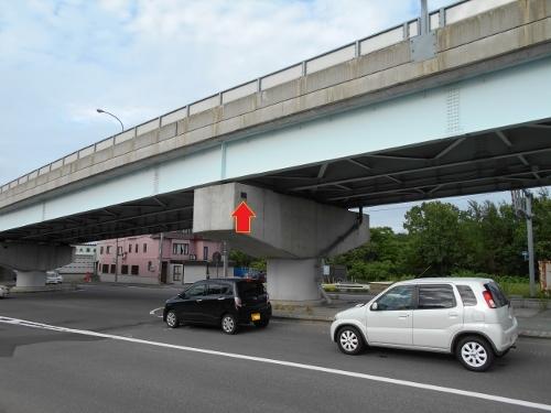 石山 国道453号 高架橋