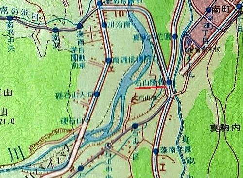 昭文社 エアリアマップ 都市地図 札幌市 1977年 石山陸橋