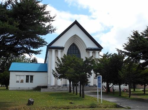 真駒内駐屯地 中央講堂(旧チャペル)