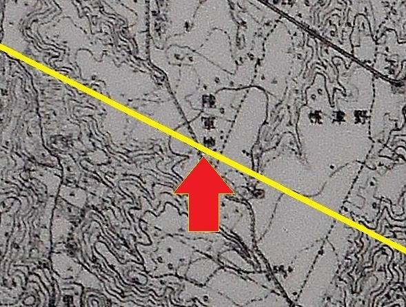 地形図1/25,000「月寒」昭和5年発行 陸軍地