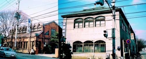 日本食品製造 旧工場、事務所 2002年
