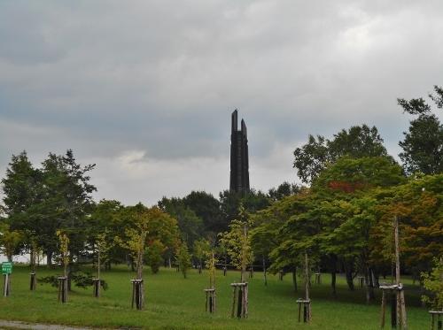 北海道百年記念塔 190731