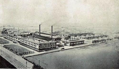 北海道工業試験場 俯瞰図 1934年
